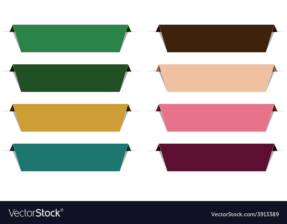 Color paper labels vector | Price: 1 Credit (USD $1)