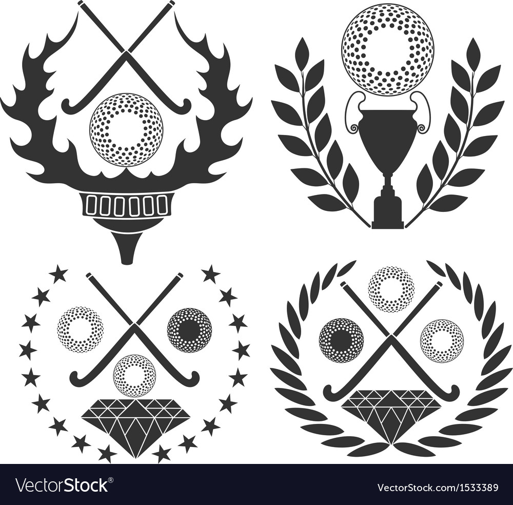 Field hockey vector | Price: 3 Credit (USD $3)
