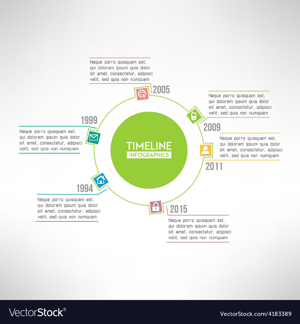 Timeline template infographic suitable for vector | Price: 1 Credit (USD $1)