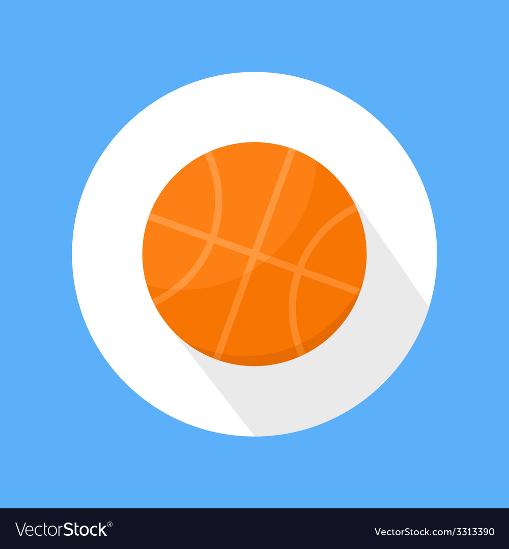 Basketball ball icon vector | Price: 1 Credit (USD $1)