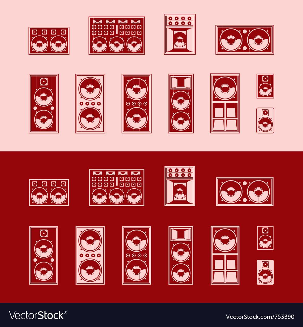 Loudspeakers vector   Price: 1 Credit (USD $1)