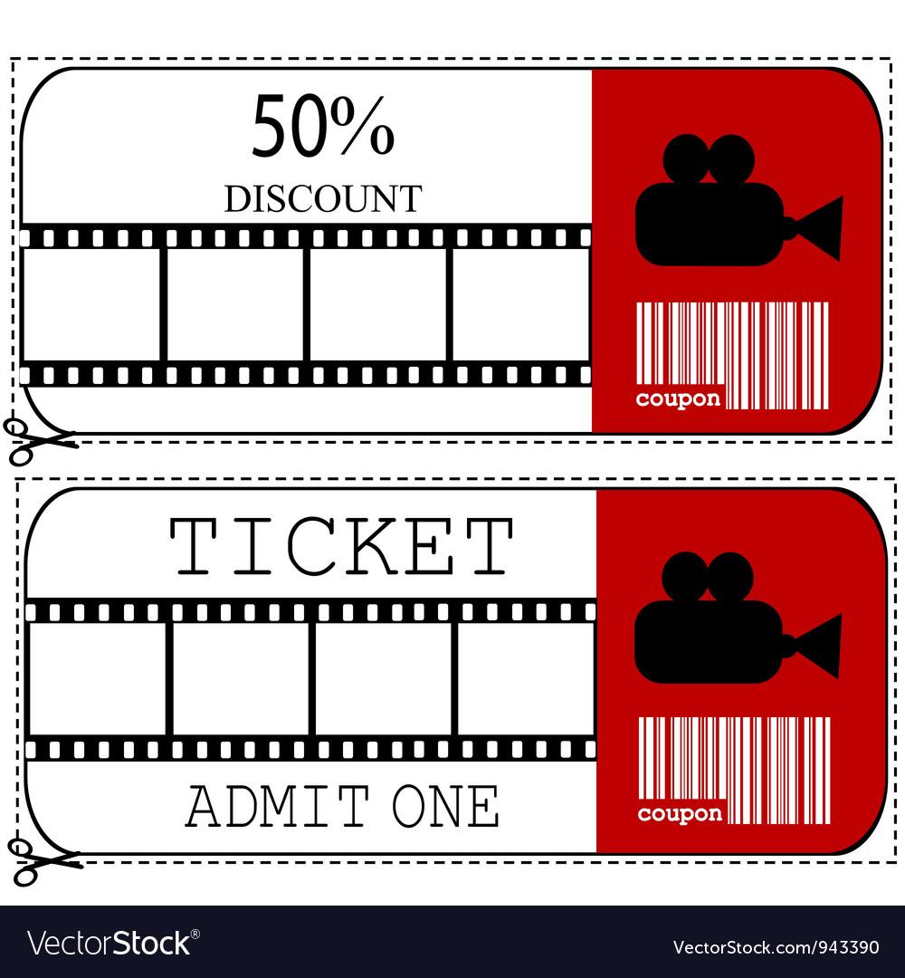 Ticket sale voucher vector   Price: 1 Credit (USD $1)