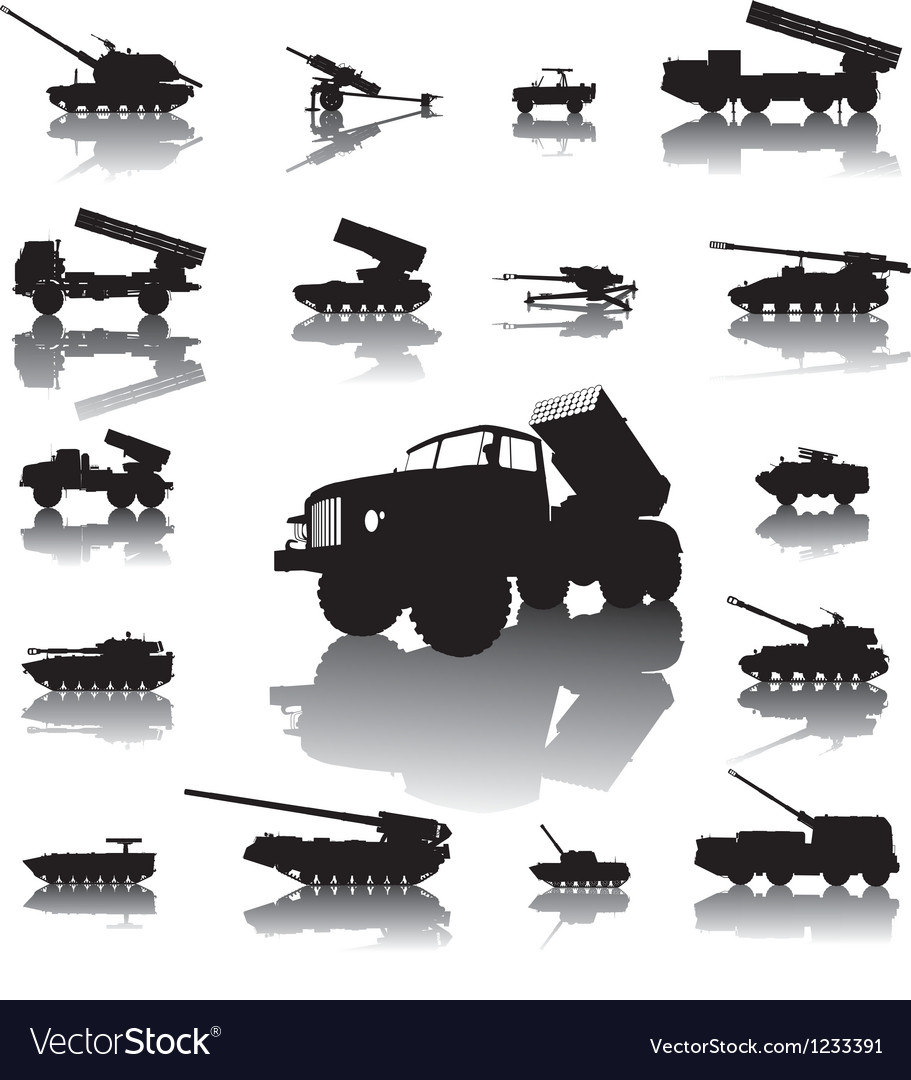 Artillery set vector | Price: 1 Credit (USD $1)