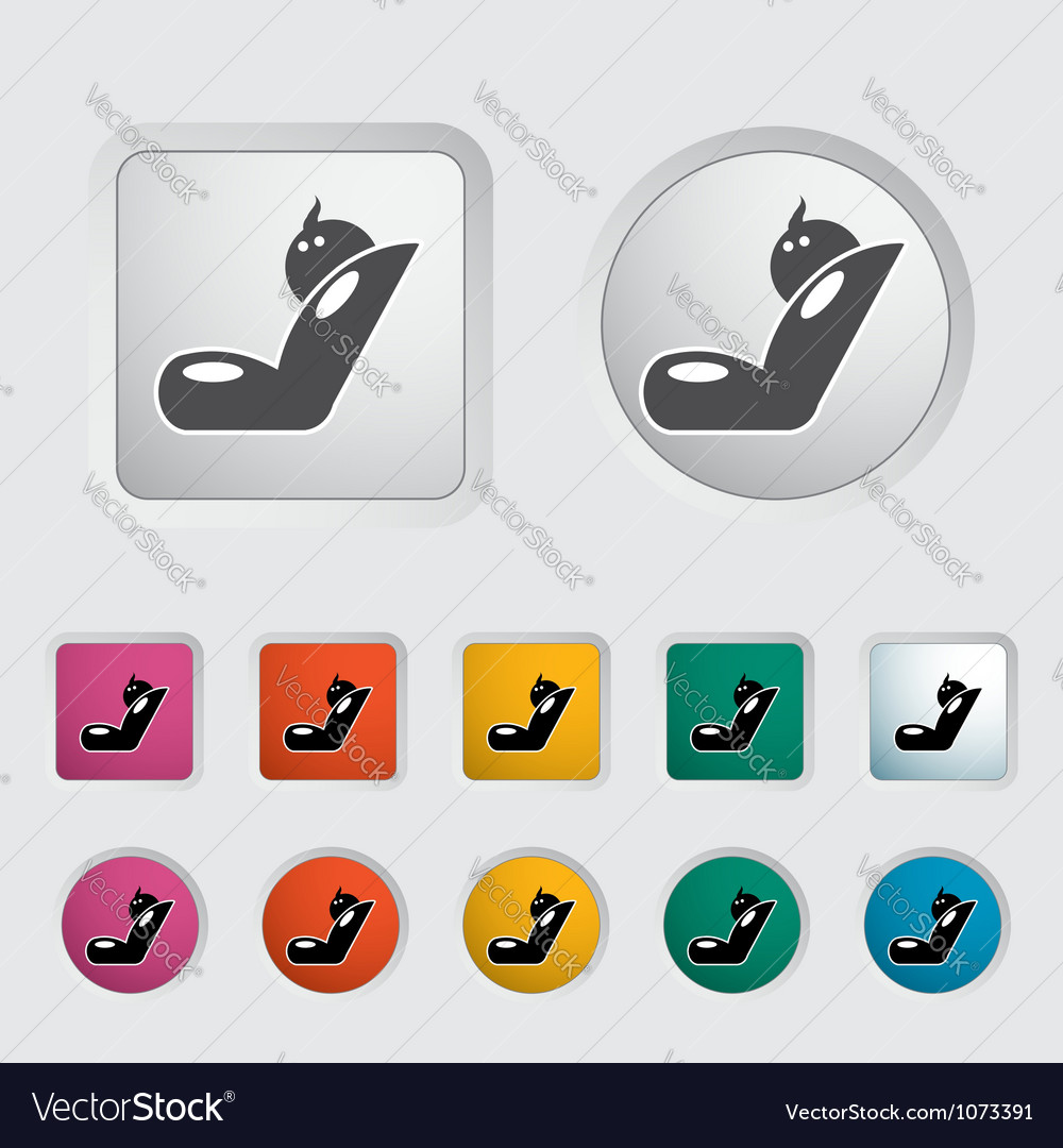 Child car seat icon vector | Price: 1 Credit (USD $1)
