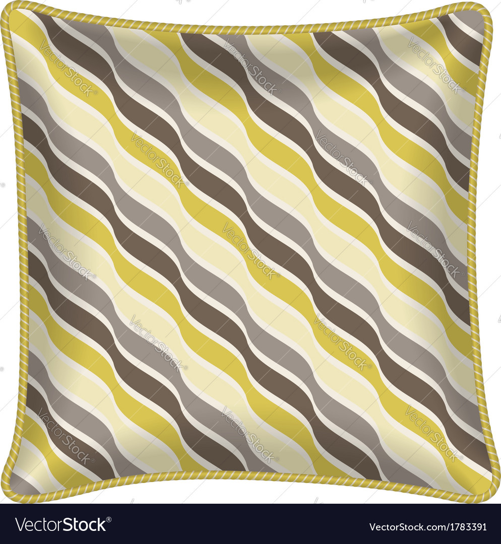 Decorative pillow vector | Price: 1 Credit (USD $1)