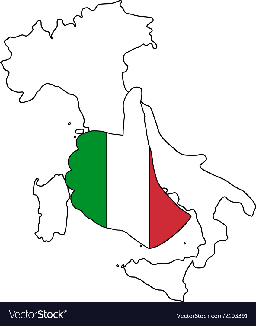 Italy hand signal vector | Price: 1 Credit (USD $1)