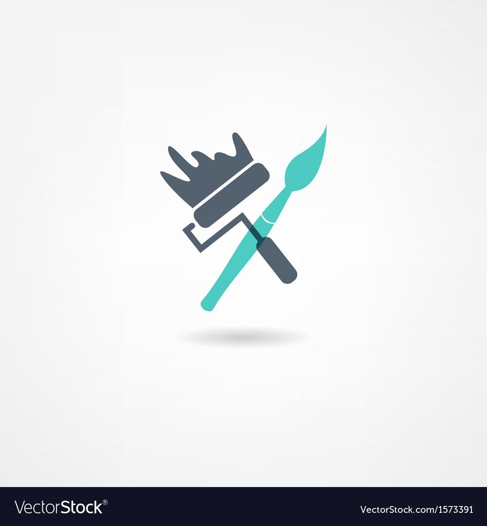 Painter icon vector | Price: 1 Credit (USD $1)
