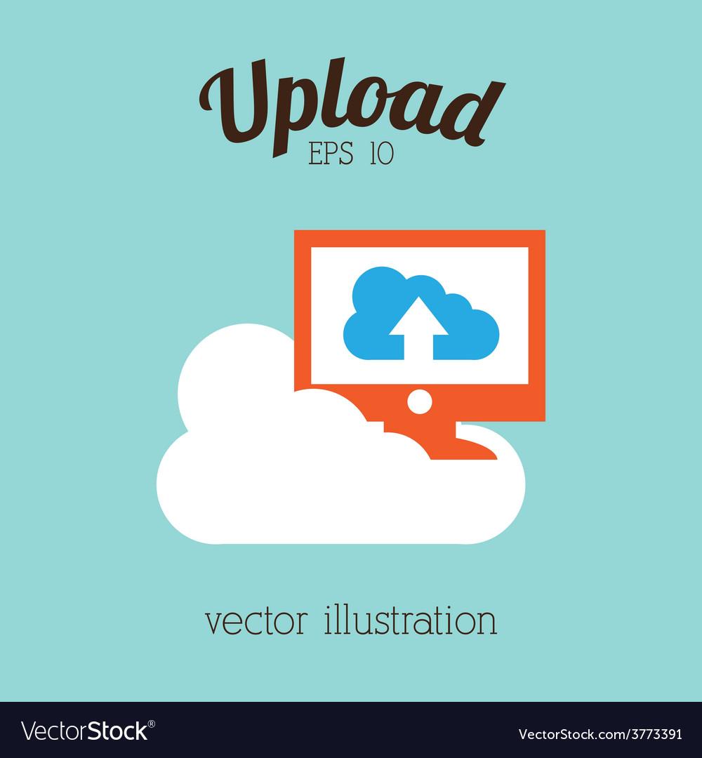 Upload icon vector   Price: 1 Credit (USD $1)