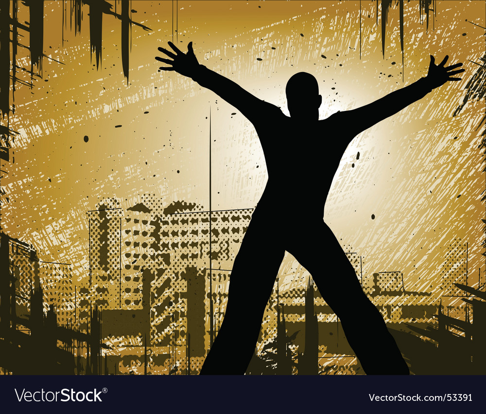 Urban man vector | Price: 1 Credit (USD $1)