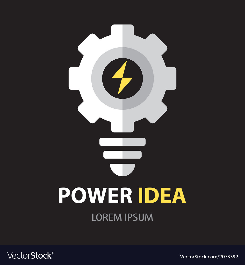 Power idea symbol vector | Price: 1 Credit (USD $1)