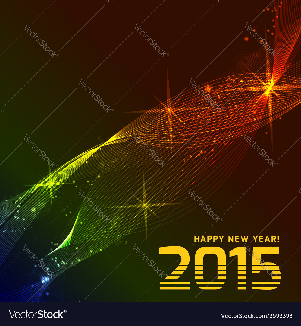 Happy 2015 new year vector | Price: 1 Credit (USD $1)