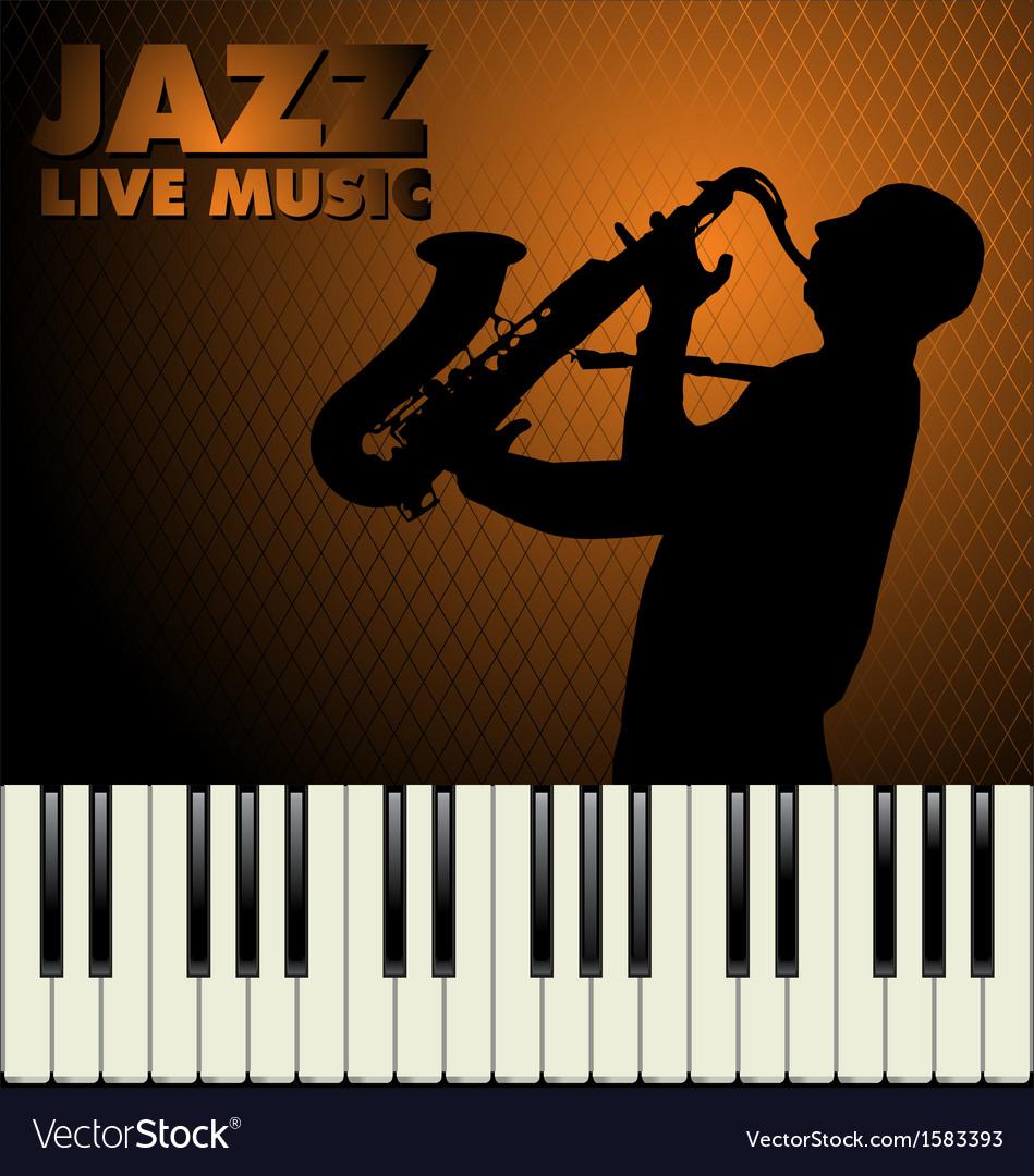 Jazz background vector | Price: 1 Credit (USD $1)