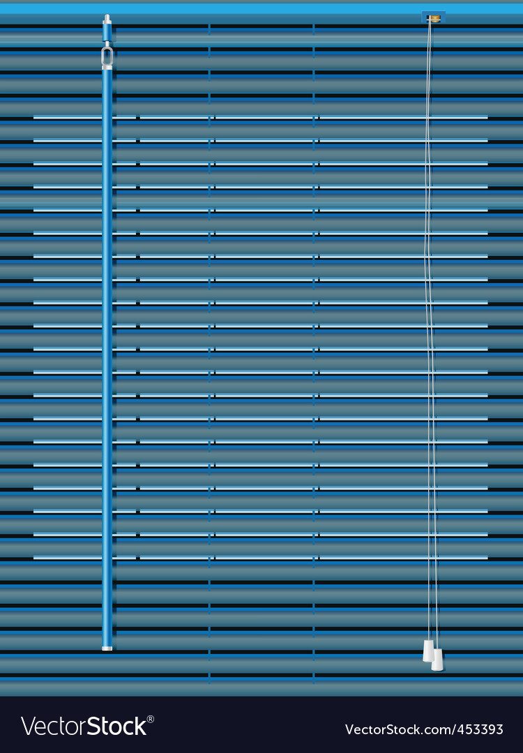 Venetian blinds vector | Price: 1 Credit (USD $1)