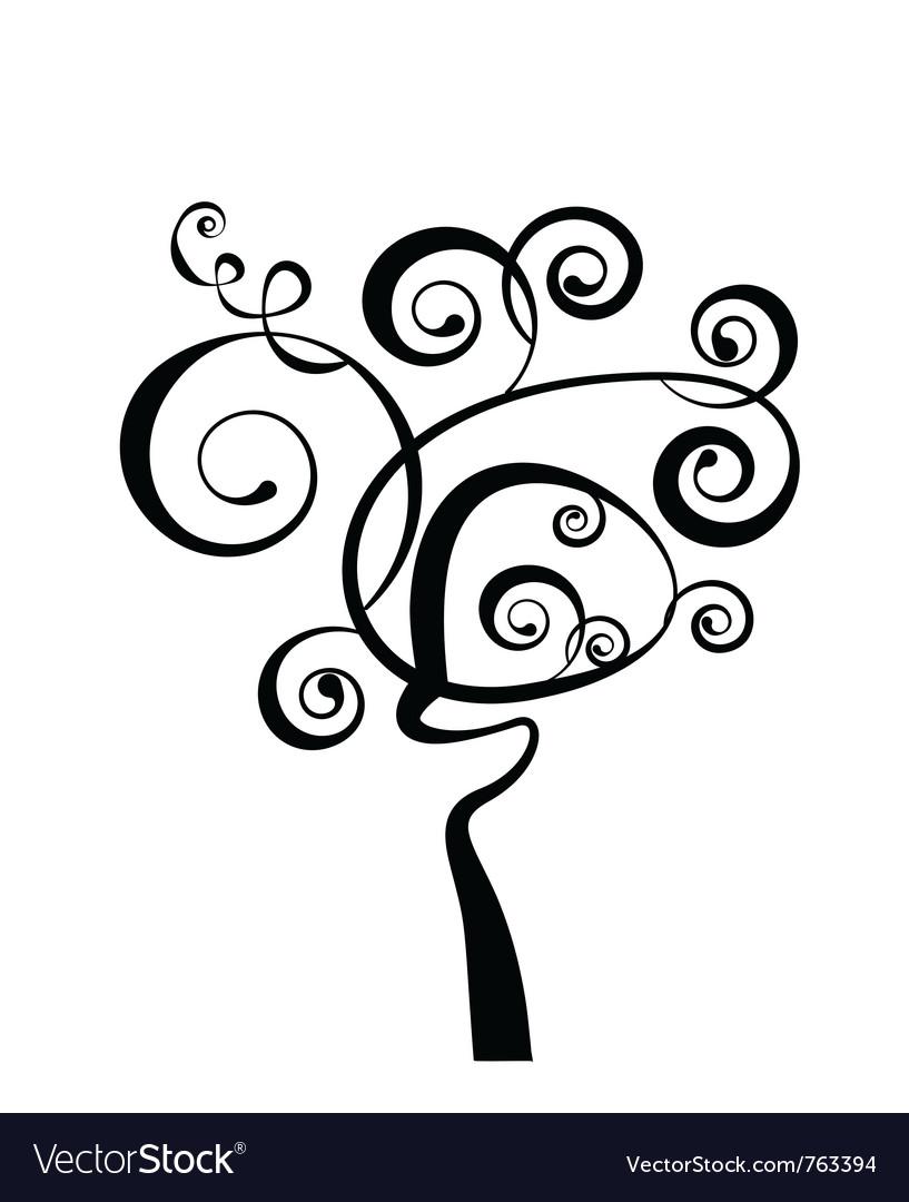 Art tree vector | Price: 1 Credit (USD $1)