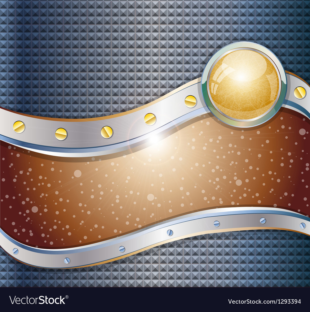 Futuristic metalic background vector | Price: 1 Credit (USD $1)