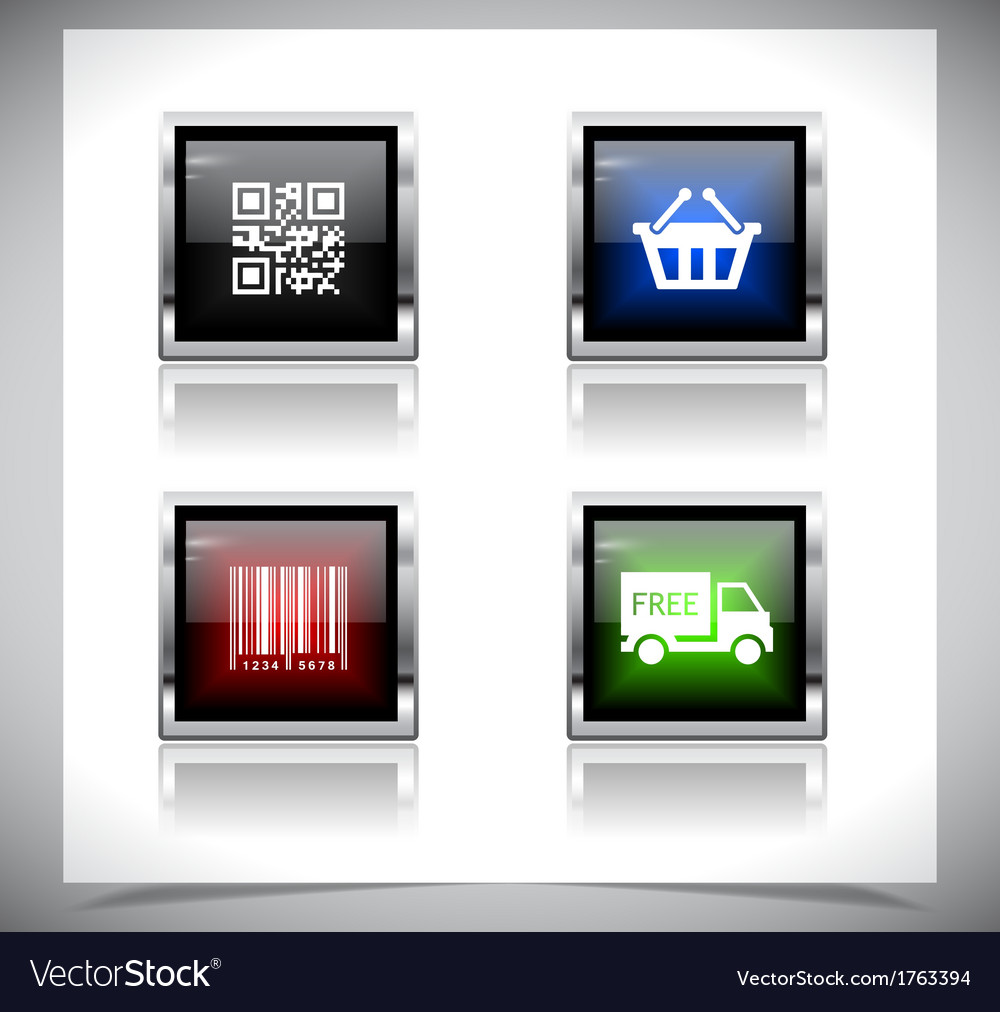 Metal web buttons eps10 vector   Price: 1 Credit (USD $1)