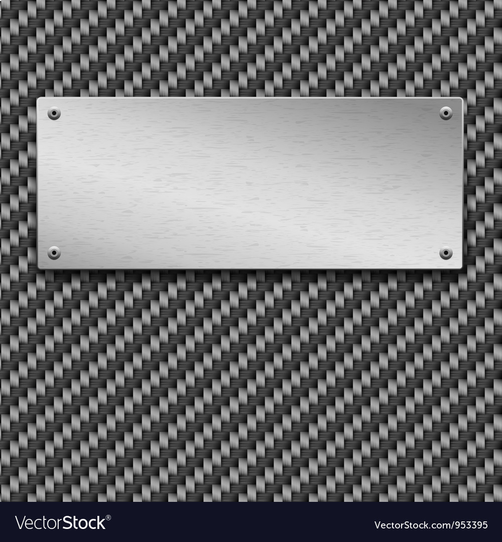 Carbon fiber seamless background vector | Price: 1 Credit (USD $1)