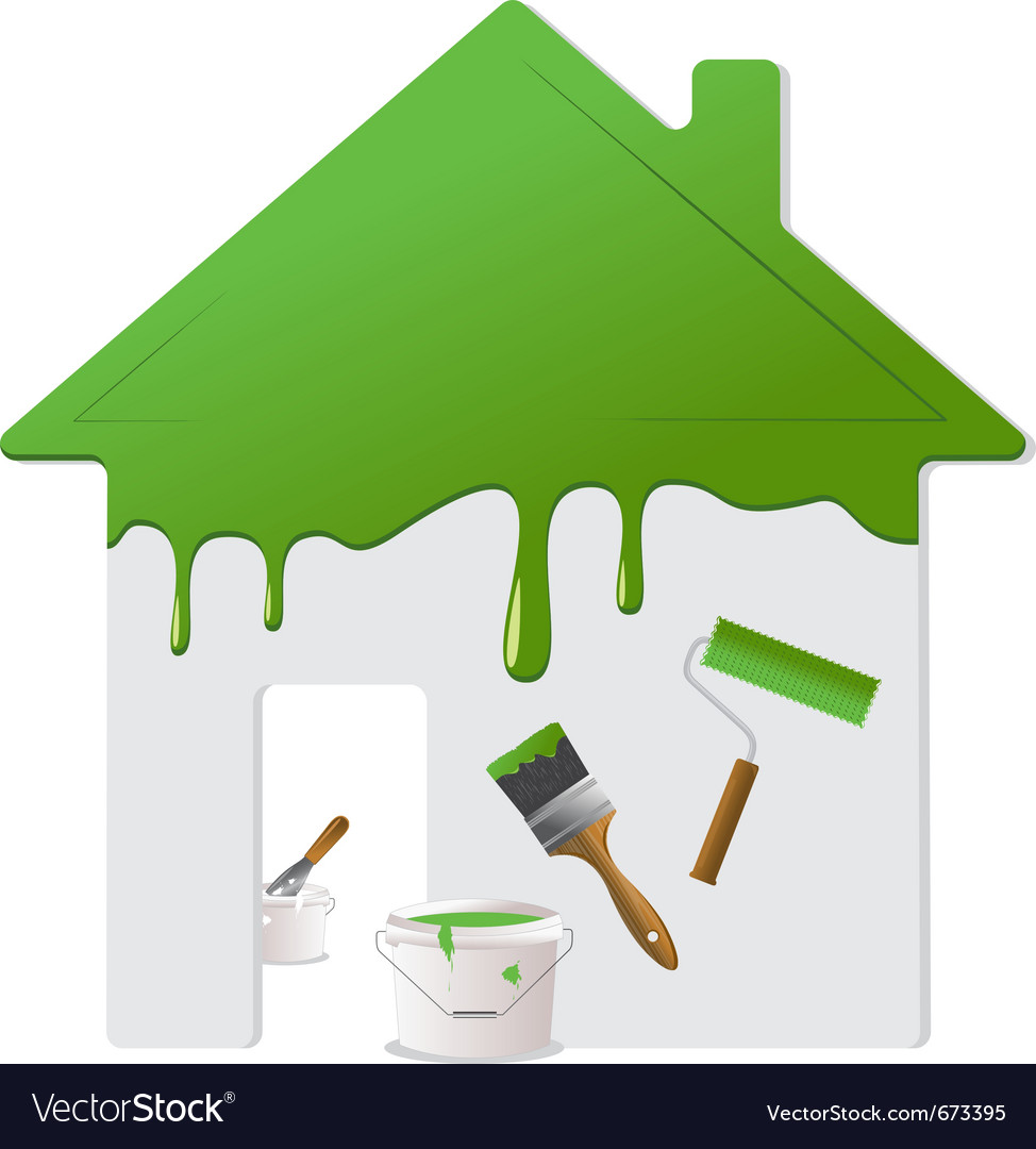 Home repair and painting tools vector | Price: 1 Credit (USD $1)