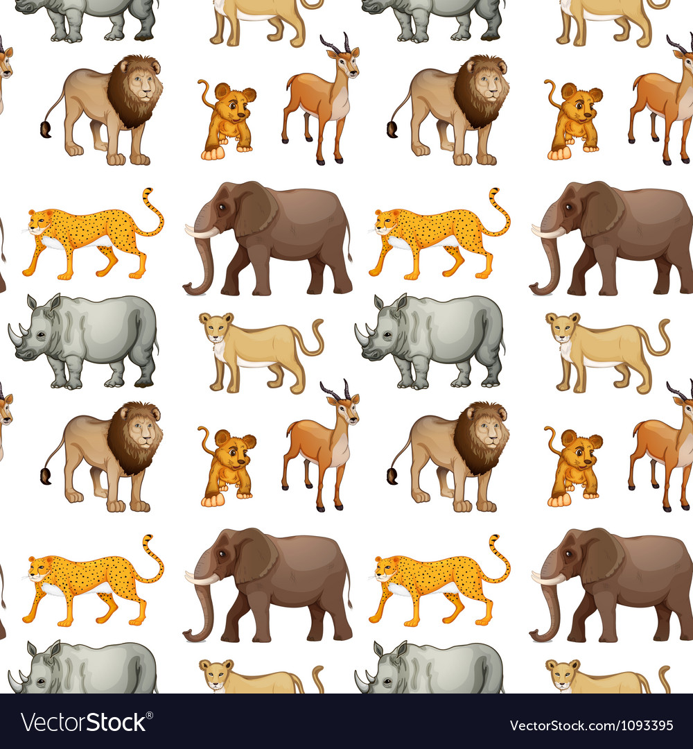 Various animals vector | Price: 1 Credit (USD $1)