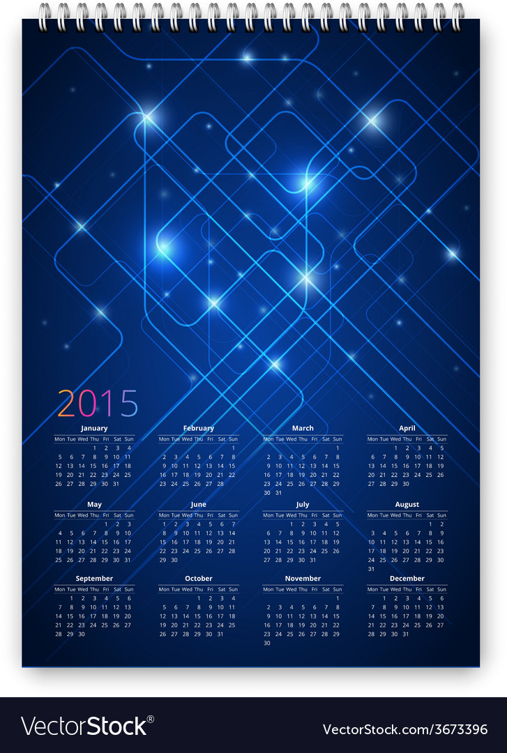 Future calendar vector | Price: 1 Credit (USD $1)