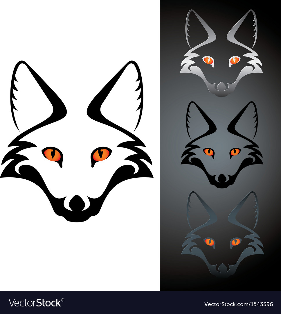 Logo fox vector | Price: 1 Credit (USD $1)