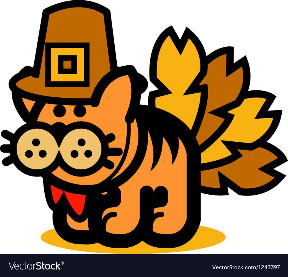 Fun cartoon cat vector | Price: 1 Credit (USD $1)