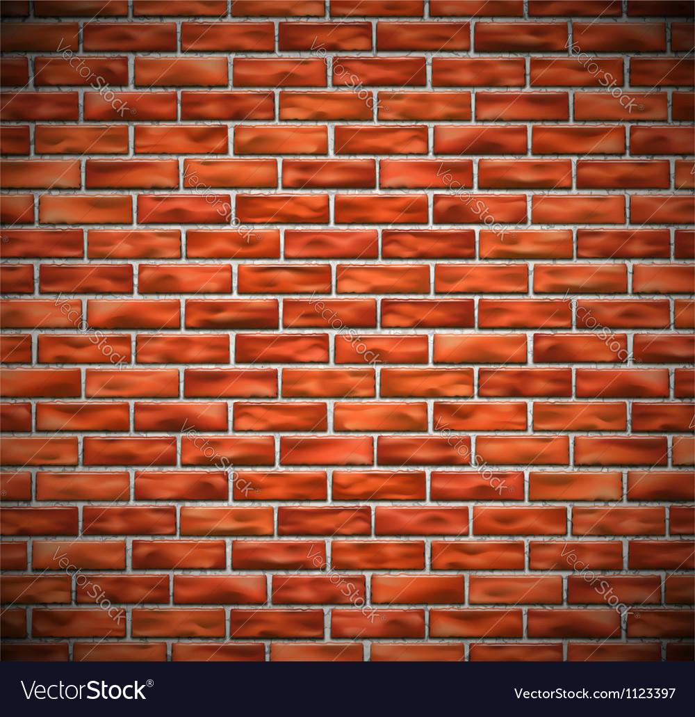 Red brick wall vector | Price: 1 Credit (USD $1)