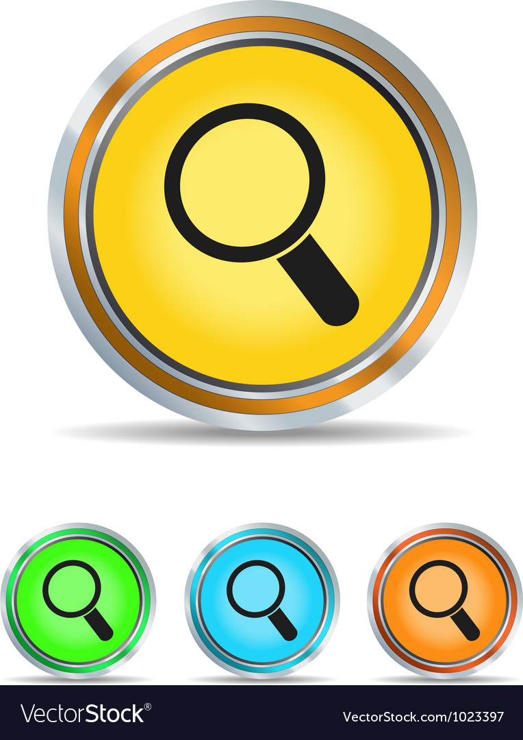 Search icon circle vector | Price: 1 Credit (USD $1)