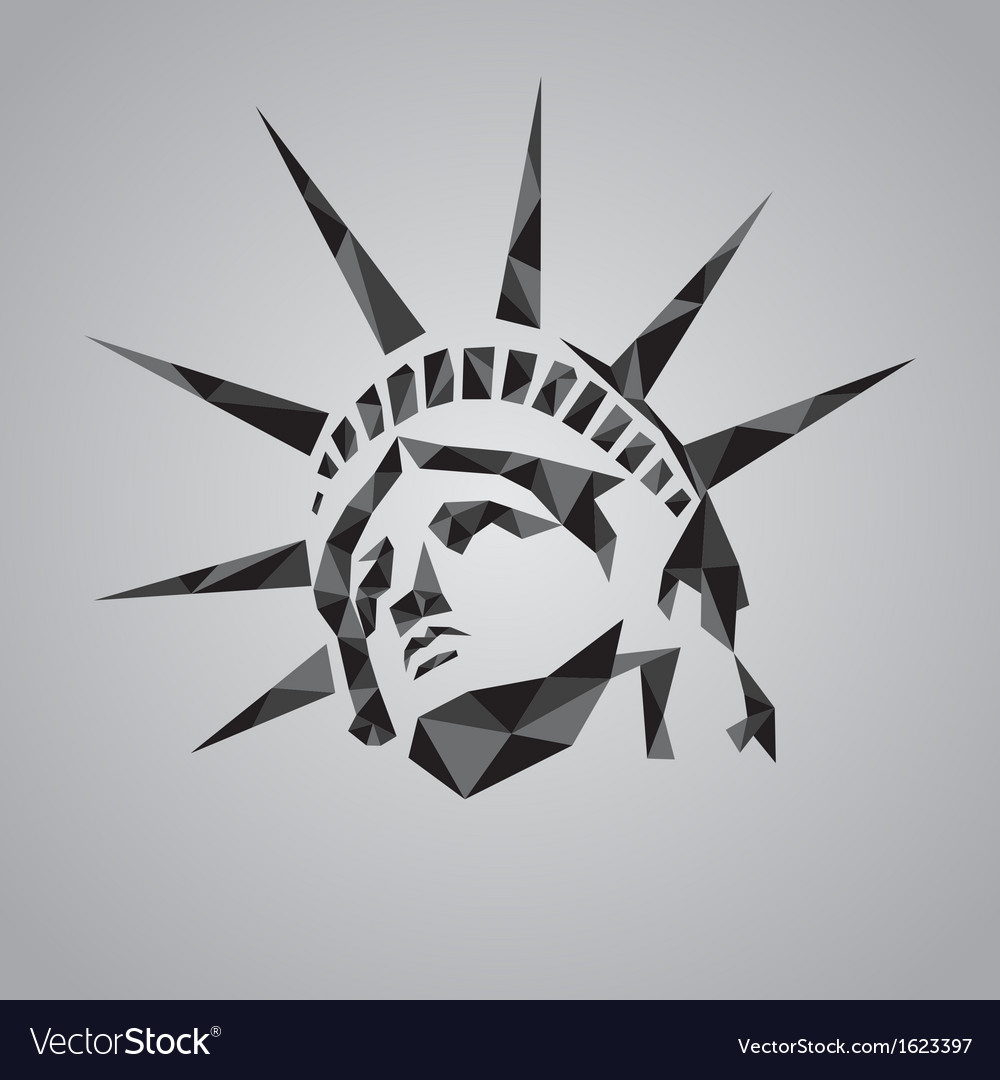 Statue of liberty symbol vector | Price: 1 Credit (USD $1)