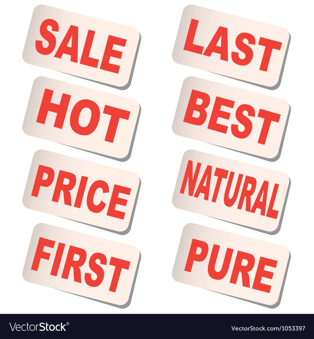 Sticker sale vector | Price: 1 Credit (USD $1)