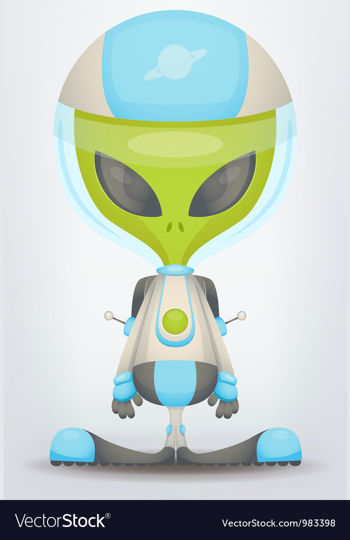Alien vector | Price: 3 Credit (USD $3)