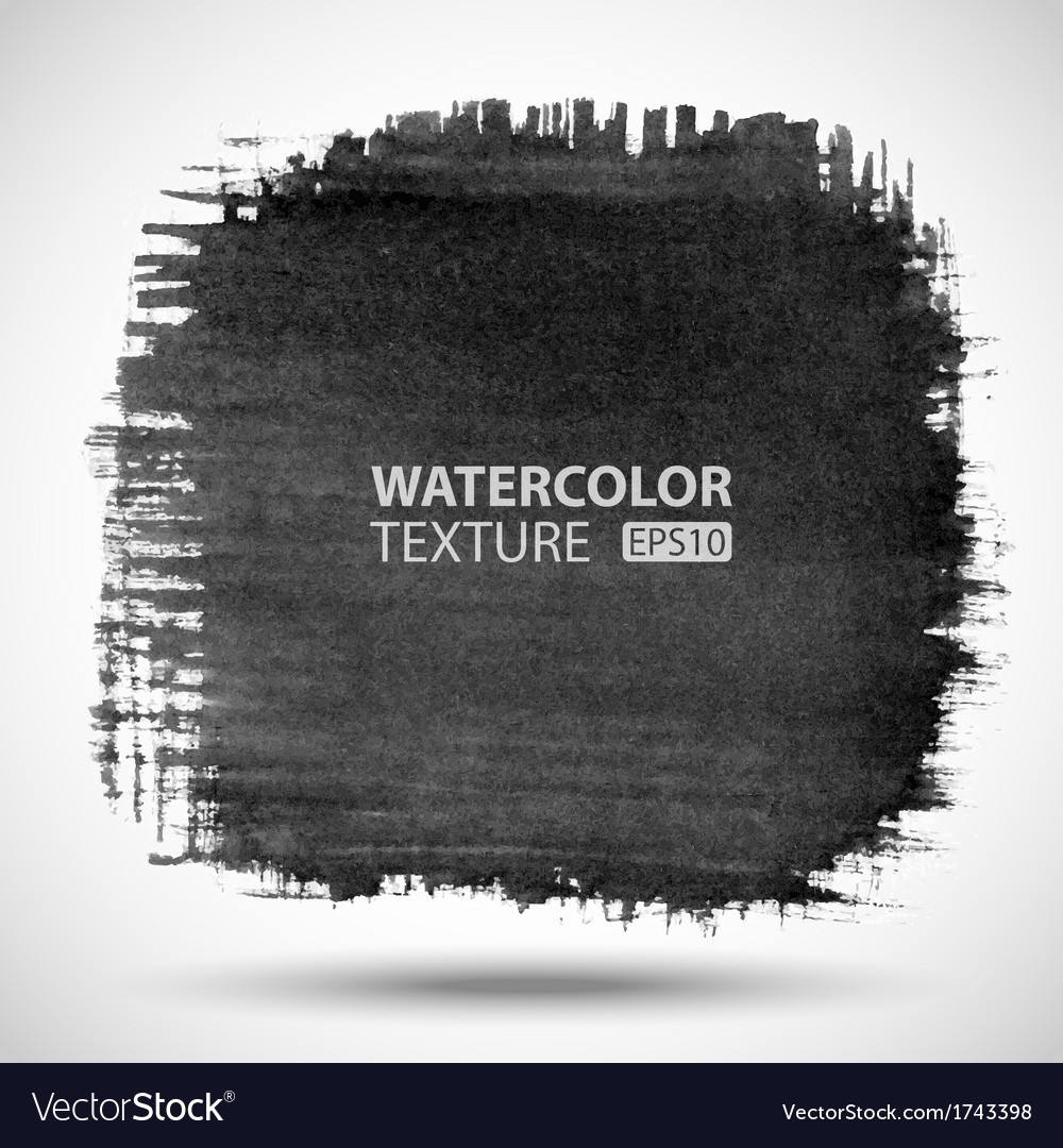 Hand drawn watercolor grunge background vector | Price: 1 Credit (USD $1)