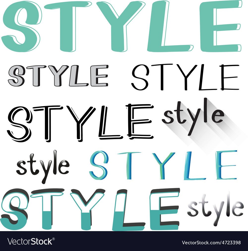 Style vector | Price: 1 Credit (USD $1)
