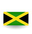 Jamaican flag vector
