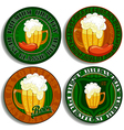 Set of beer tags vector