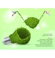 Concept of clean green energy vector