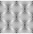 Design seamless monochrome geometric pattern vector