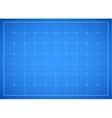 Blue square grid blueprint vector