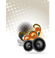 Abstract speakers design vector