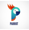 Tropical birds - parrot vector