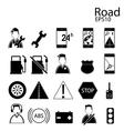 Car auto icons vector