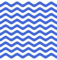 Blue wavy chevron seamless pattern vector