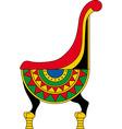 Egypt pharaohs throne vector