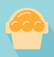 Sweets icon vector