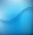 Abstract blue background with wave vector