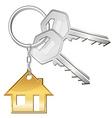 Keys for home vector