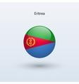 Eritrea round flag vector