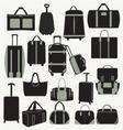 Baggage theme icons vector