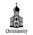 Christianity emblem or icon vector