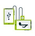 Gadgets icon vector